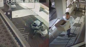 Ele foi abordado conduzindo o veiculo usado na fuga, mas jura de pés juntos  que é inocente. 969ae550cd